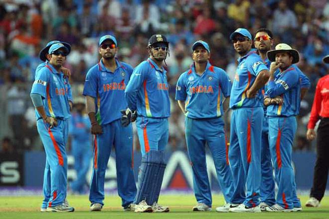 ঢাকায় ভারতীয় ক্রিকেট দল